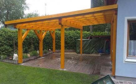 Dirninger Holzbau Referenz Terressenüberdachung (4)